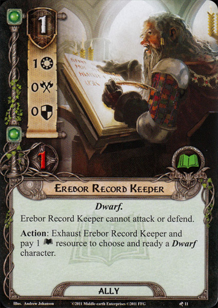 Erebor Record Keeper