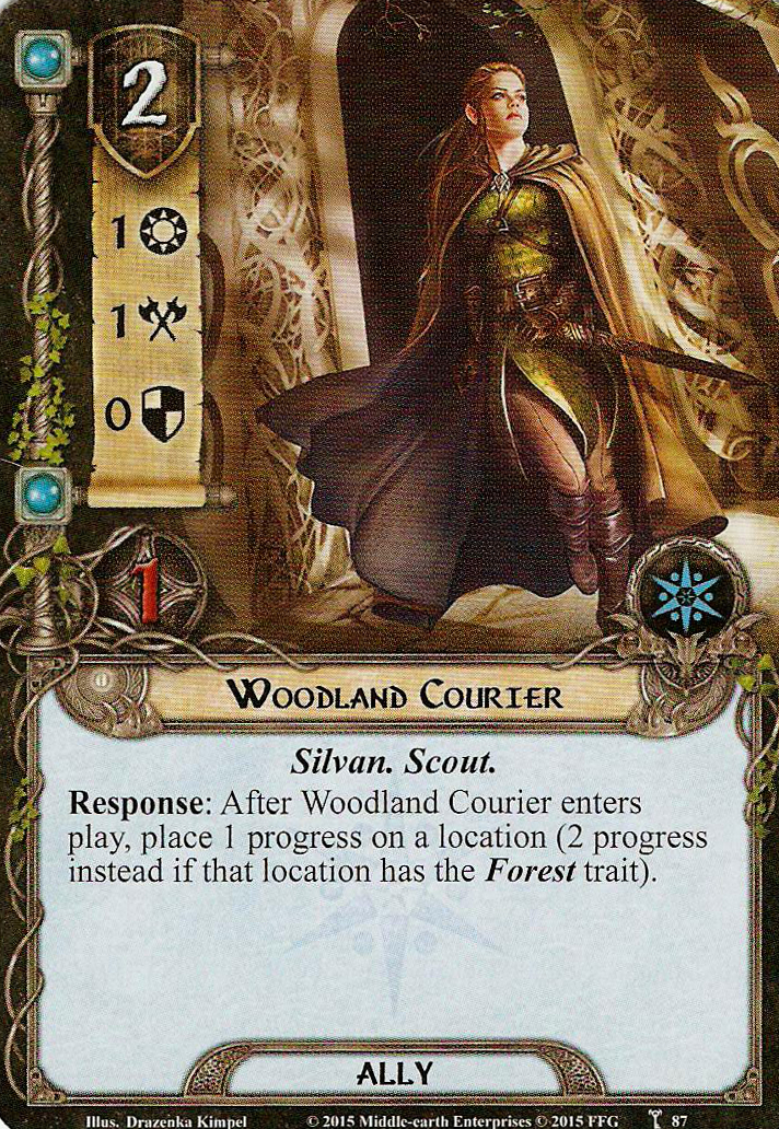 Woodland Courier