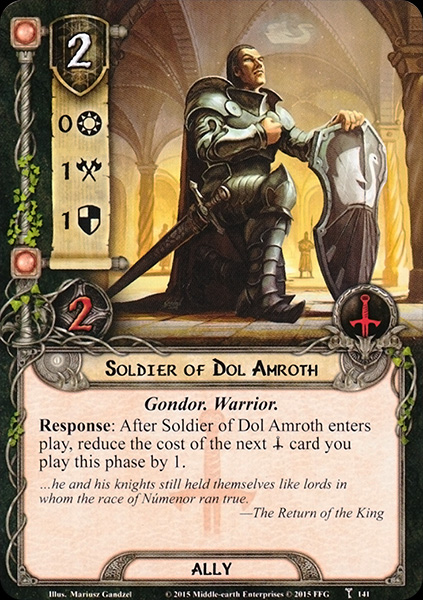 Soldier of Dol Amroth